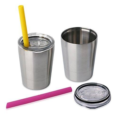 Amazon: 2-Pack of Housavvy Kids Stainless Steel Cups only $13!