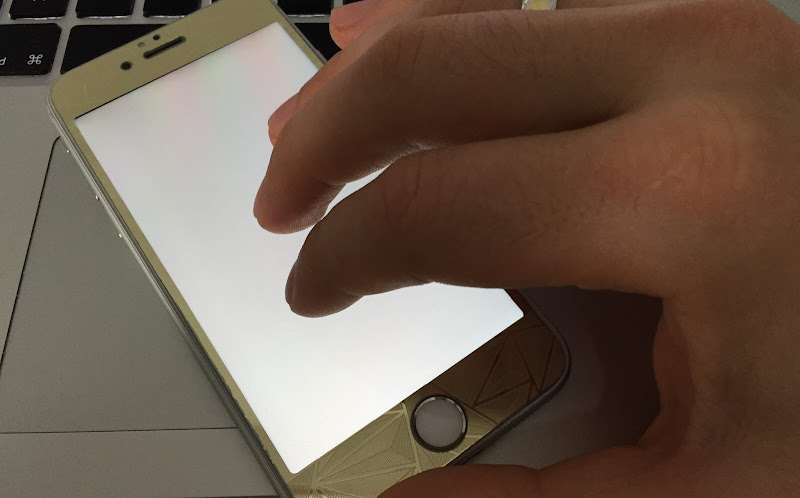 iPhone white screen solution
