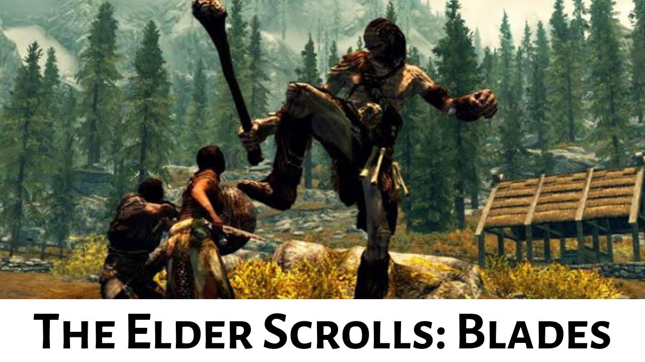 the elder scrolls blades apk data
