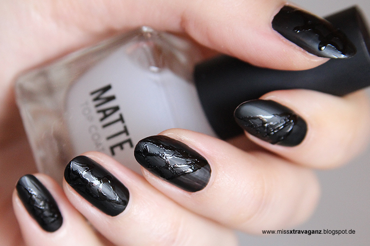 nagellack halloween nailart matte spinnweben miss von xtravaganz beauty lifestyle. Black Bedroom Furniture Sets. Home Design Ideas