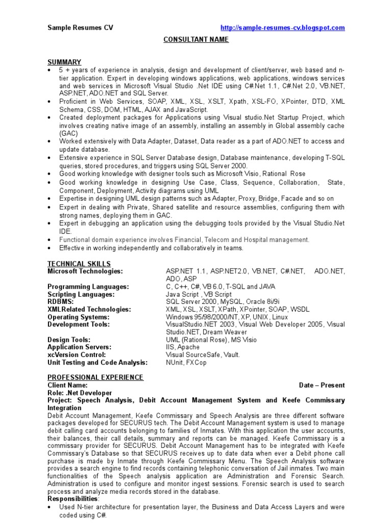 2 years experience resume - Scribd india