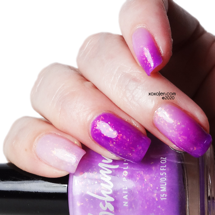 xoxoJen's swatch of KBShimmer Where My Beaches At?