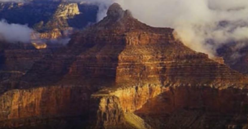 Pyramids in the grand canyon
