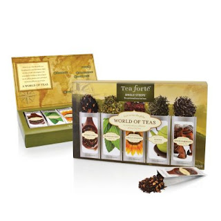 Cutie World of Teas cu 15 infuzii de ceaiuri -o idee de cadou mai special