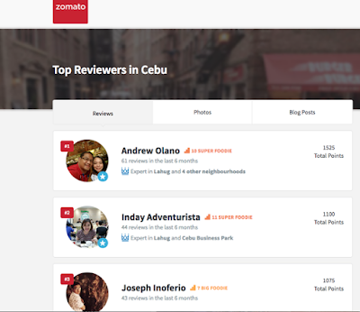 Zomato, Zomato Cebu, Zomato Review, Top Reviewer in Zomato Cebu, Cebu Top Food Blog, Kalami Cebu, Cebu Food Blogger, kalami cebu