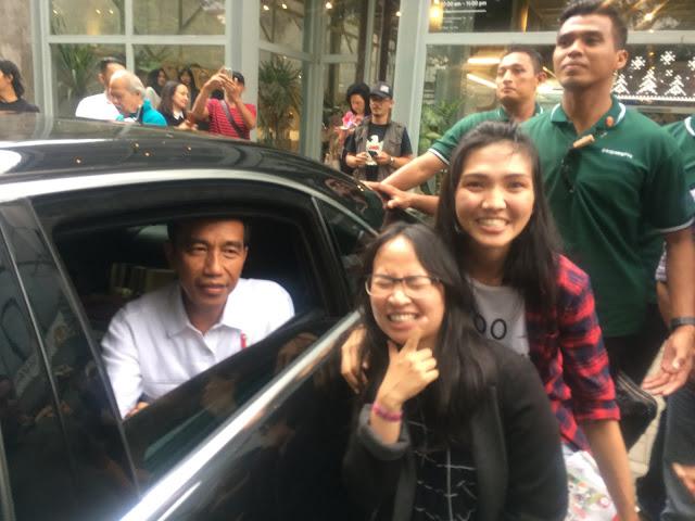 Bertemu Pak Jokowi