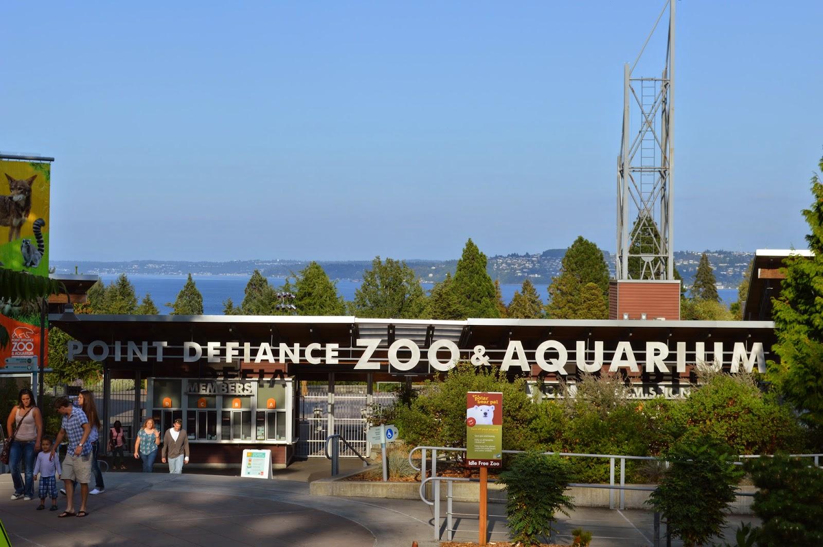 Point Defiance Zoo and Aquarium-Summer 2014