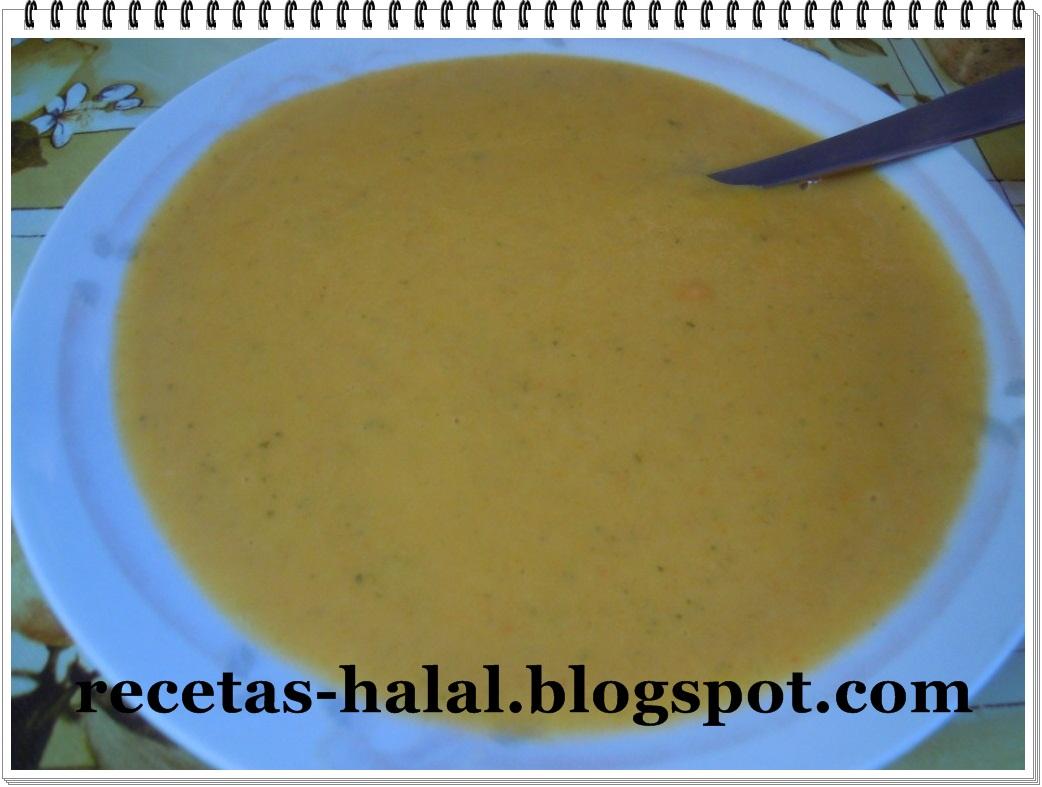 Mi rinconcillo de cocina halal: Puré de verduras.