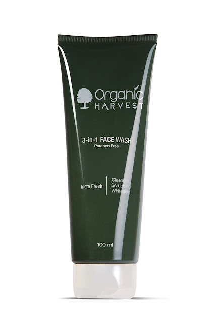 Top 10 Organic Harvest Products You Must Know - 3-in-1 Face Wash