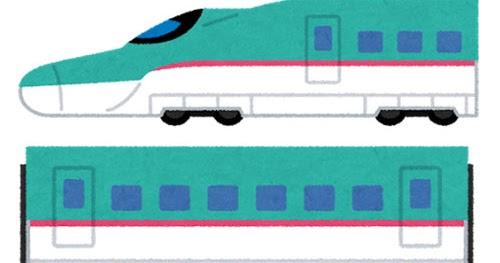 新幹線e5系電車のイラストはやぶさ かわいいフリー素材集 いらすとや