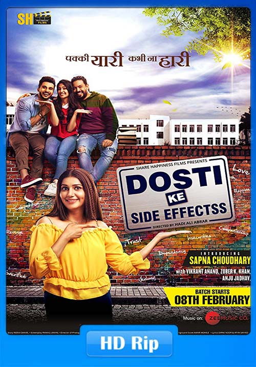Dosti ke Side Effects 2019 Hindi 720p HDRip ESubs x264 | 480p 300MB | 100MB HEVC