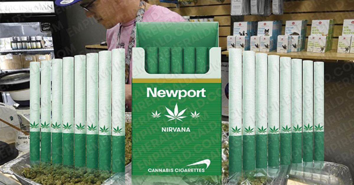 "Newport Introduces ""Marijuana Cigarettes"" That Will Go On Sale"