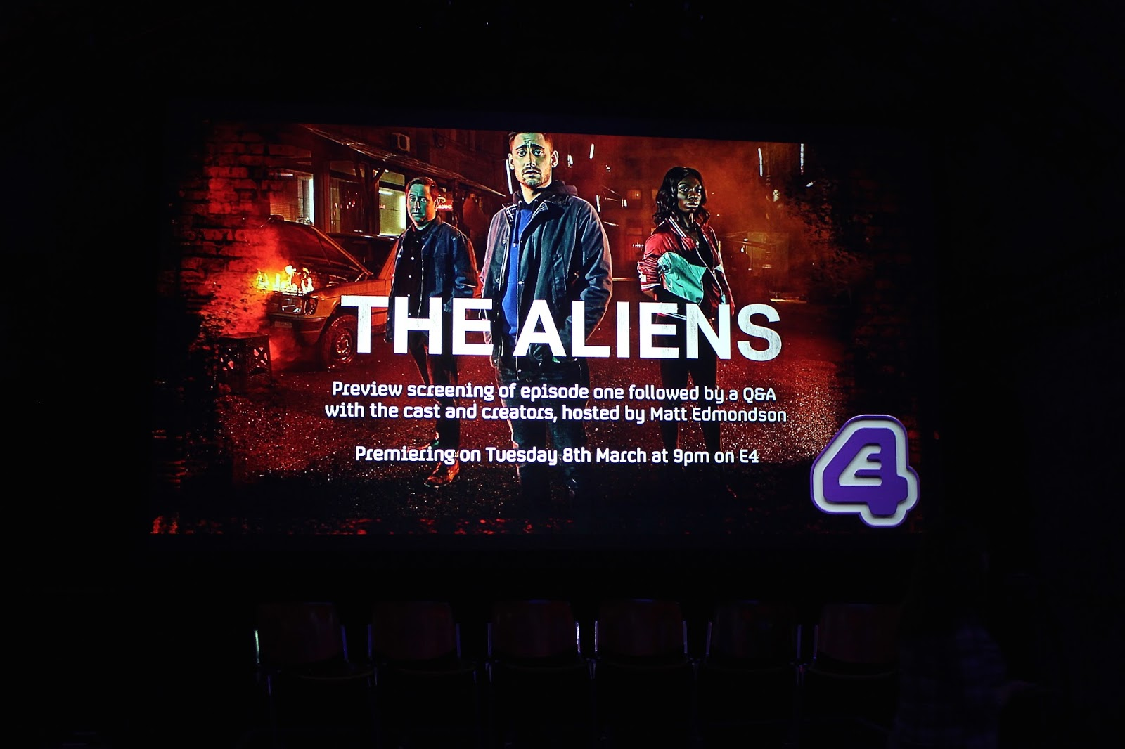 The Aliens Premiere