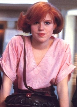 Everyone knows a Claire (With images) | The breakfast club ... |Molly Ringwald Breakfast Club Hair