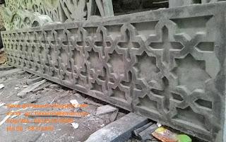 relief GRC masjid Jakarta