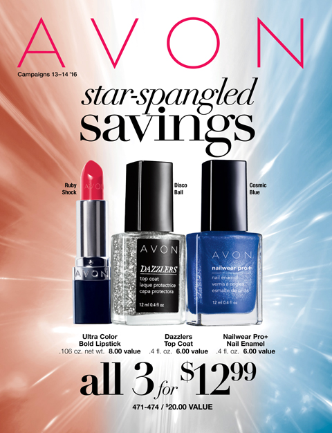 Avon Star-Spangled SAVINGS 2016