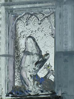 Figura św. Antoniego Pustelnika ze Spiskiej Białej.
