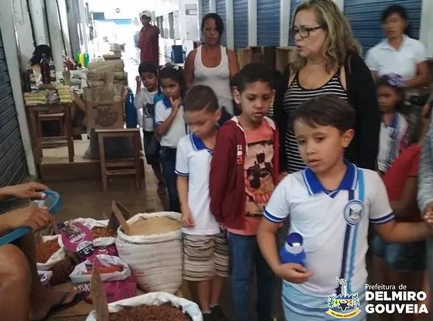 Em Delmiro Gouveia, alunos da educação infantil participam do Projeto Aprendendo a Viver com Saúde