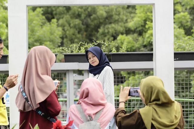 Jadi Baru Kebumen 2018 Tour To Bandung, Best Momen- foto di teras cihampelas bandung