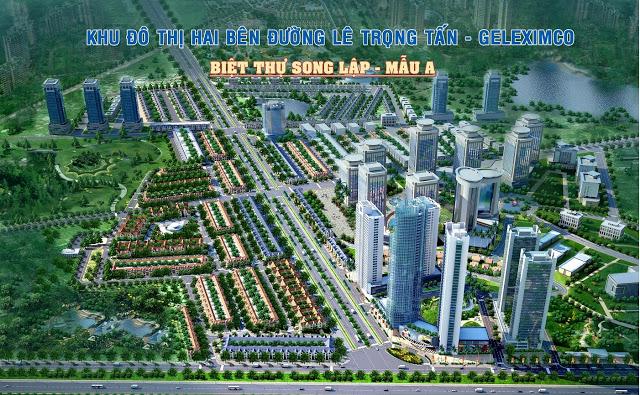 Quần thể khu đô thị lê trọng tấn - Geleximco