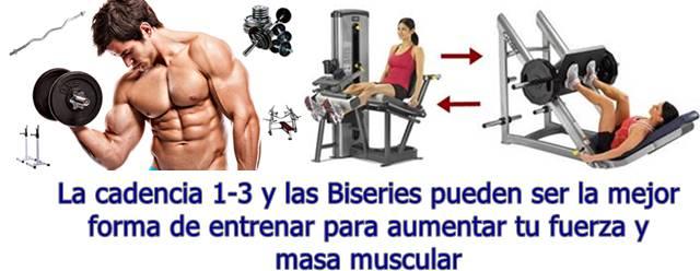 La forma de entrenar para ganar masa muscular rápido
