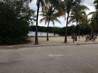 Picnic in Key Largo, Florida