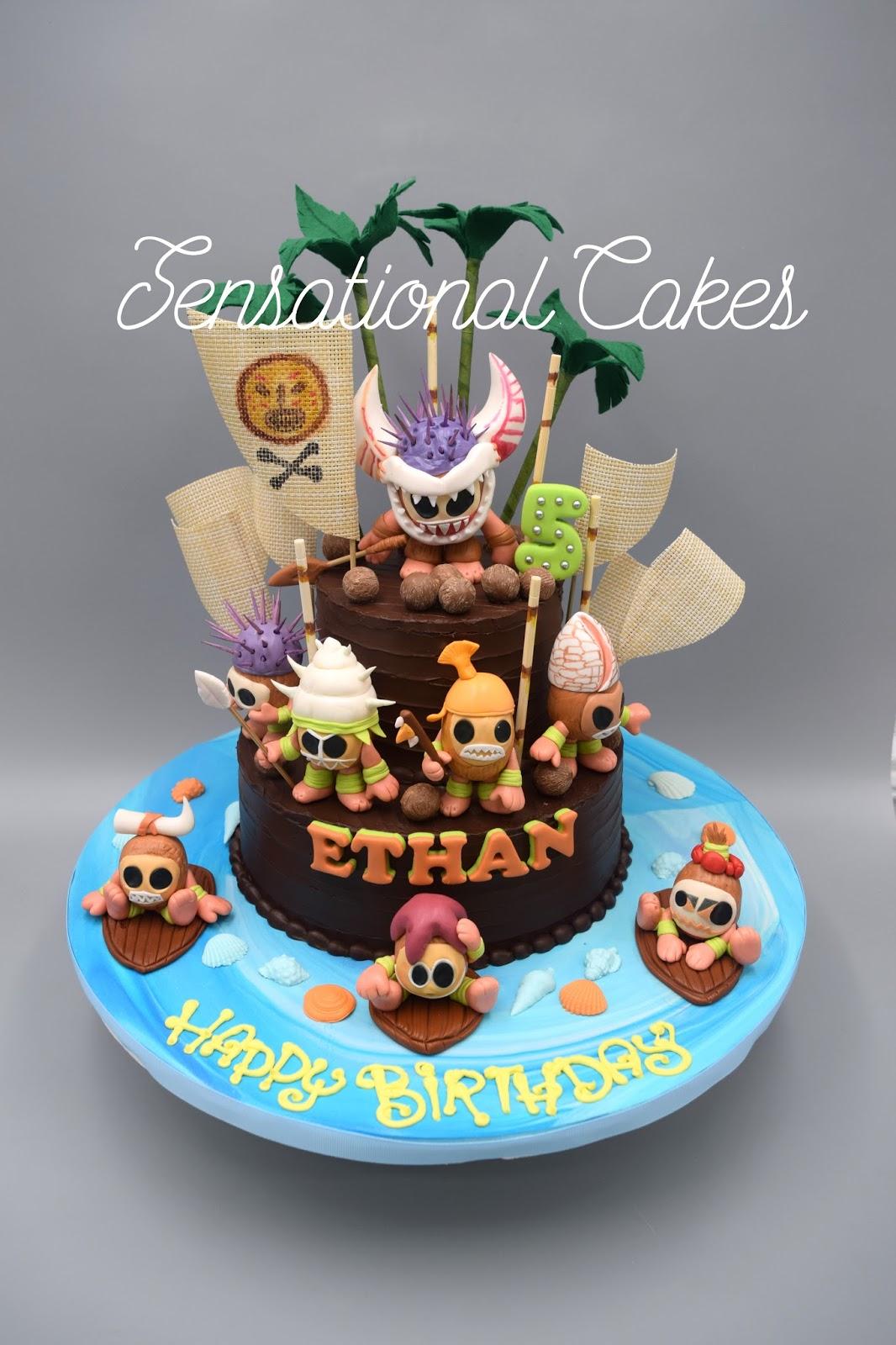 The Sensational Cakes Kakamora Moana Creatures 3d Cakes Singapore