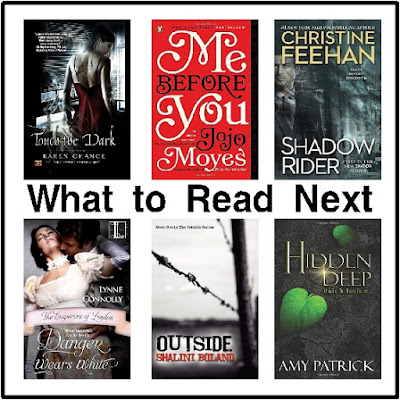 Enjoy a good book with this selection of Contemporary fiction, dystopian, ghost stories, historical fiction, and magic.  I haven't read them all, so if they are as good as they seem, let me know!  I just know they all look good and I want to read!