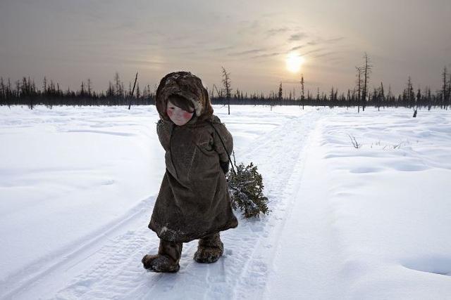 """""""Tận cùng thế giới"""": nhiếp ảnh gia Alessandra Meniconzi/ Yamal, Siberia, Nga"""