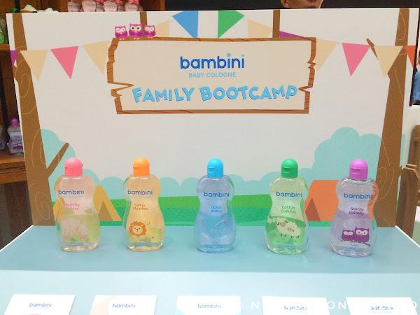 Bambini Baby Cologne Family Bootcamp: A 'Sunny Playtime' with Iya and Primo Arellano