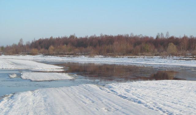 весенняя река