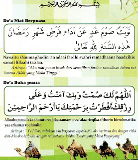 Berbagi Informasi Doa Berbuka Puasa Dan Doa Niat Berpuasa