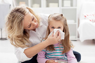 حساسية الأنف وعلاجها للأطفال