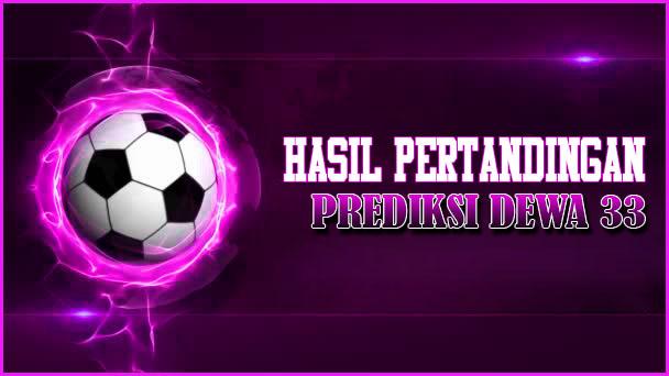 Hasil pertandingan Sepak Bola Tanggal 12 - 13 April 2019