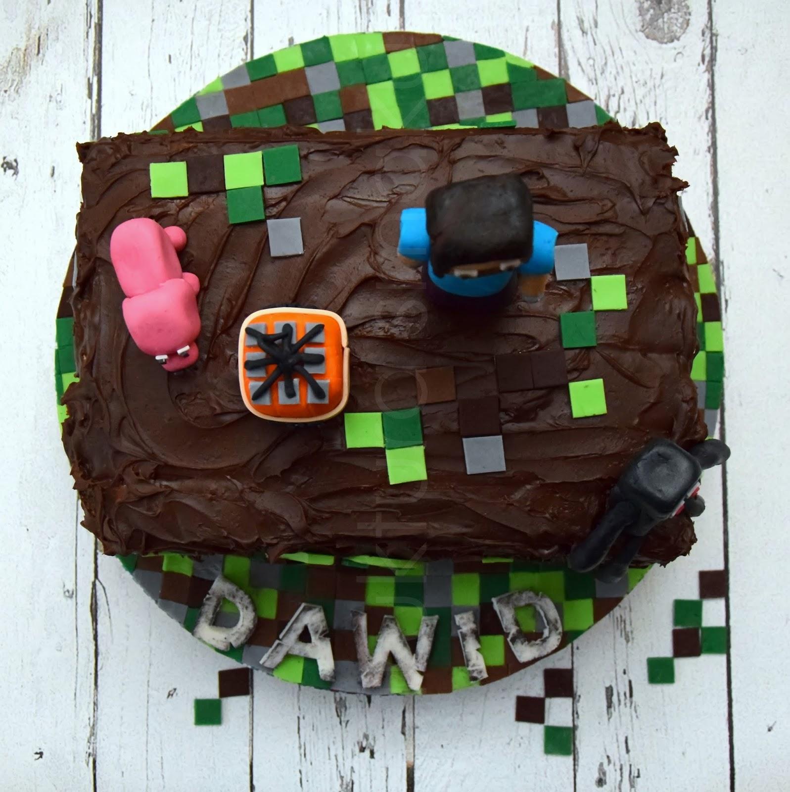 Tort Urodzinowy Z Serii Minecraft Cz 2 Kulinaria Zblogowani