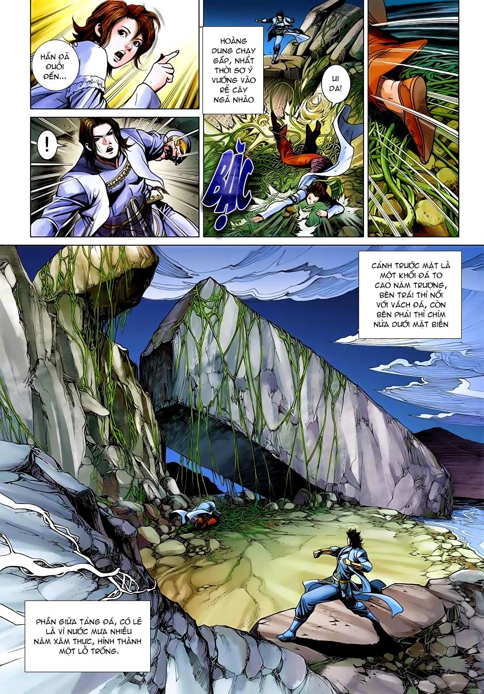 Anh Hùng Xạ Điêu anh hùng xạ đêu chap 54: kiếp hậu dư sinh thiến nữ kỳ mưu trang 12