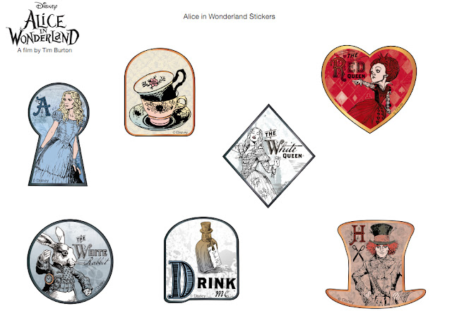 photo about Printable Alice in Wonderland known as Alice and Wonderland Printables - No cost - ieZombie Website