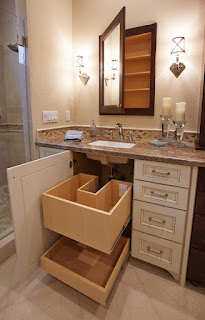 Traditional Granite Bathroom Countertops