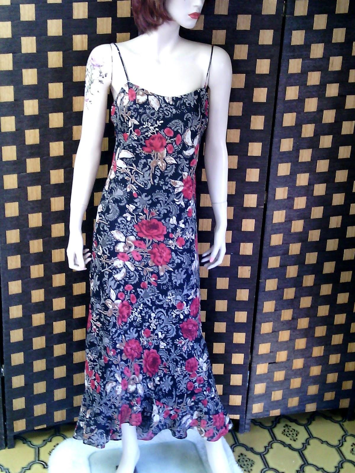 Tiendamatador: Vestido de fiesta estampado de flores