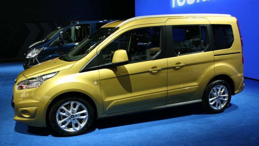 2013 Ford Transit Connect'in İç Mekan Fotoğrafı Ortaya Çıktı!