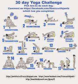 fitness with jamie september yoga challenge