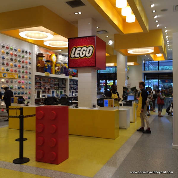 The Lego Store in NYC