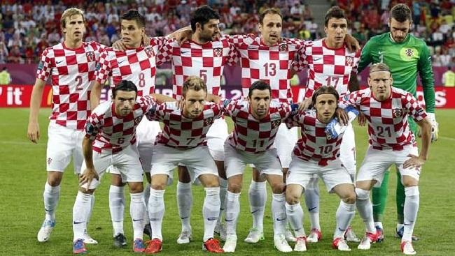 Daftar Profil Nama Skuad Pemain Timnas Sepak Bola Kroasia UEFA EURO 2016