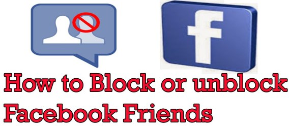 block unblock friends facebook