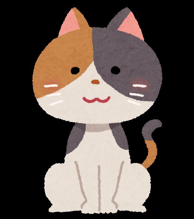 三毛猫のイラスト かわいいフリー素材集 いらすとや