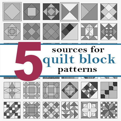 A Bright Corner Five Friday Favorites Sources For Quilt Block Patterns