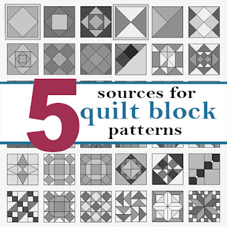Sources for quilt block patterns and tutorials
