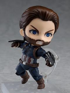 """Figuras: Imágenes y detalles del Nendoroid Captain America Infinity Edition DX Ver de """"Infinity War"""" - Good Smile Company"""