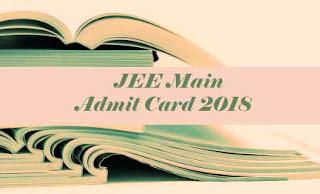 JEE Main Hall ticket 2018 | JEE Main 2018 Hall ticket | JEE Main Hall ticket 2018 Download | JEE Main 2018 Hall ticket download