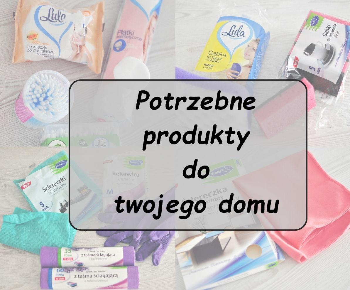 produkty do sprzątania, jak utrzymać porządek, jak posprzątać dom
